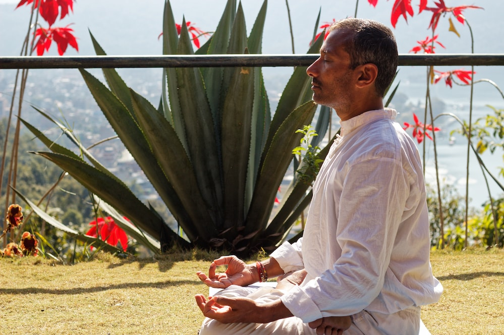 Jayesh Mistry Yoga at Castle Resort Pokhara