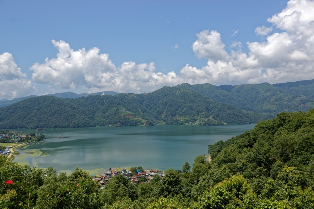 Phewa Lake from The Castle Resort